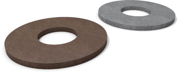 Bodemplaat/ring (Ø = 200 mm)