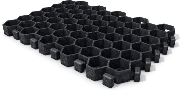 Gras-splitplaten paddock