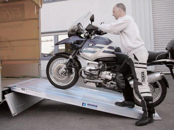 Laadklep star tot 800 kg draagvermogen